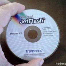 Coleccionismo: CD JETFLASH USB DRIVER. Lote 136817810