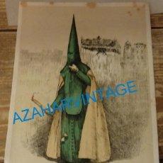 Coleccionismo: SEMANA SANTA SEVILLA, 1924, NAZARENO ESPERANZA DE TRIANA, FRANCISCO HOHENLEITER,150X215MM. Lote 137280050