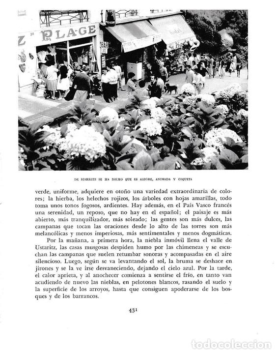 LAMINA 6276: BIARRITZ (Coleccionismo - Laminas, Programas y Otros Documentos)