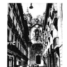 Coleccionismo: LAMINA 6137: SAN SEBASTIAN BARROCA FACHADA DE LA VIRGEN DEL CORO. Lote 97078858