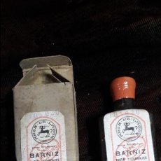 Coleccionismo: BARNIZ TINTE PARA CORREAJES DE LA GUARDIA CIVIL. Lote 143354356