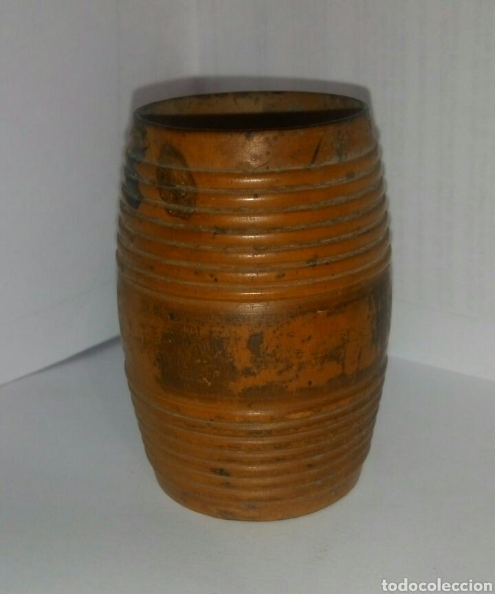 PALILLERO BARRILETE MADERA (Coleccionismo - Varios)