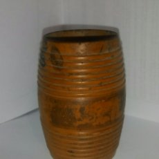 Coleccionismo: PALILLERO BARRILETE MADERA. Lote 137571554