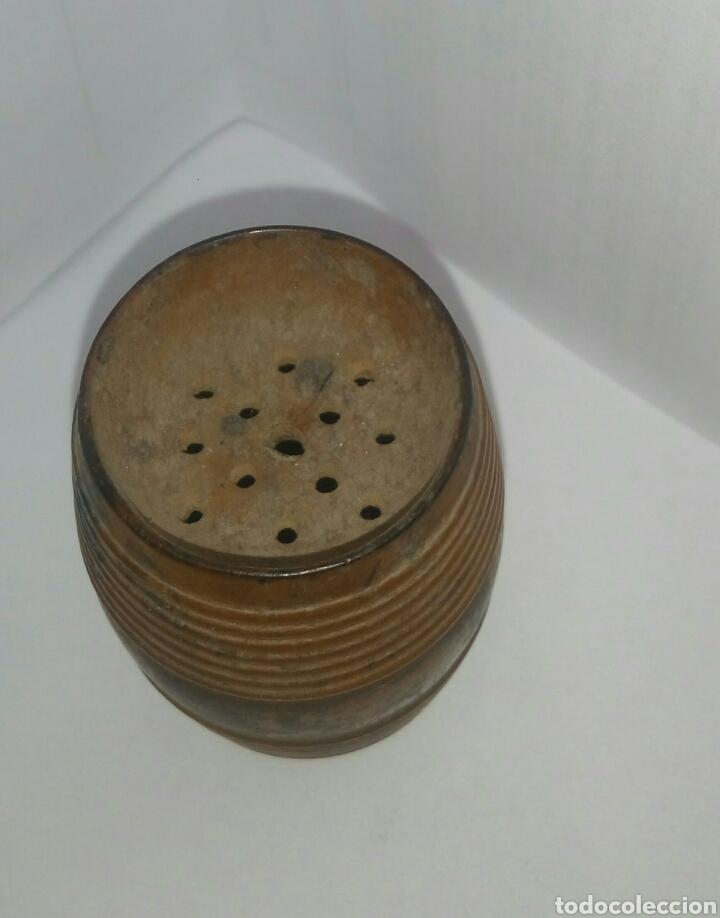 Coleccionismo: Palillero barrilete madera - Foto 2 - 137571554