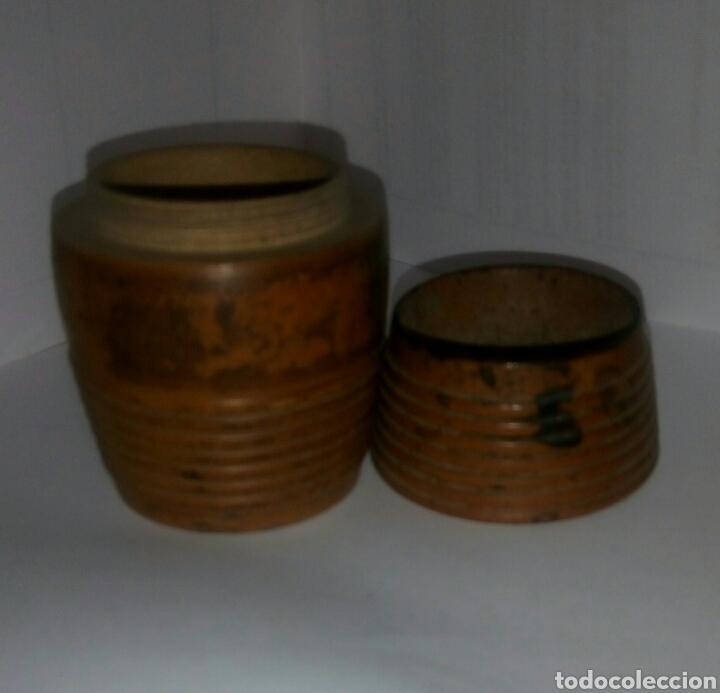 Coleccionismo: Palillero barrilete madera - Foto 3 - 137571554
