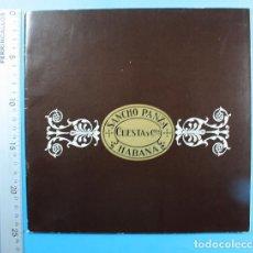 Coleccionismo: CURIOSO CATALOGO DE PUROS SANCHO PANZA DE CUESTA Y CIA HABANA 28 PAGINSA. Lote 137934878