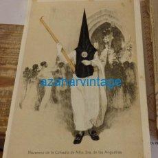Coleccionismo: SEMANA SANTA SEVILLA, 1924, NAZARENO DE LOS GITANOS, FRANCISCO HOHENLEITER,150X215MM. Lote 137959798