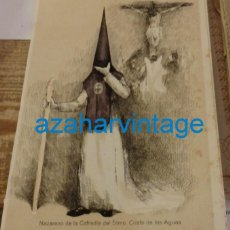 Coleccionismo: SEMANA SANTA SEVILLA, 1924, NAZARENO DE LAS AGUAS, FRANCISCO HOHENLEITER,150X215MM. Lote 137960154