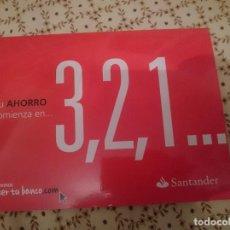 Coleccionismo: CARPETA BANCO SANTANDER - TAMAÑO FOLIO --REFM3E1. Lote 138795838