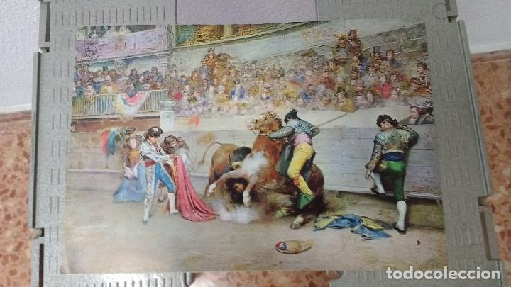 Coleccionismo: lote de 13 láminas de diversos cuadros - Foto 2 - 139384578