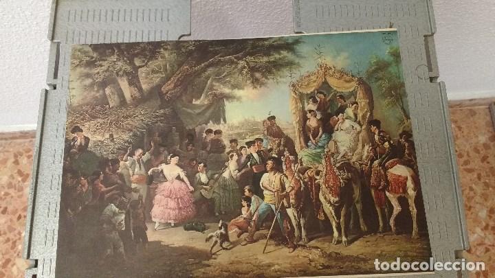 Coleccionismo: lote de 13 láminas de diversos cuadros - Foto 4 - 139384578