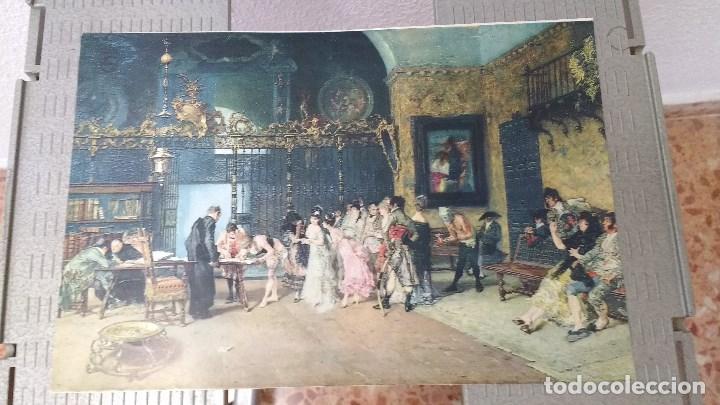 Coleccionismo: lote de 13 láminas de diversos cuadros - Foto 6 - 139384578