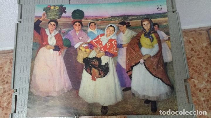 Coleccionismo: lote de 13 láminas de diversos cuadros - Foto 7 - 139384578
