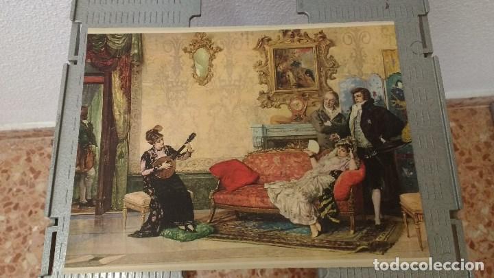 Coleccionismo: lote de 13 láminas de diversos cuadros - Foto 8 - 139384578