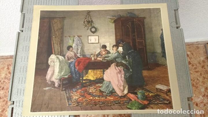 Coleccionismo: lote de 13 láminas de diversos cuadros - Foto 10 - 139384578