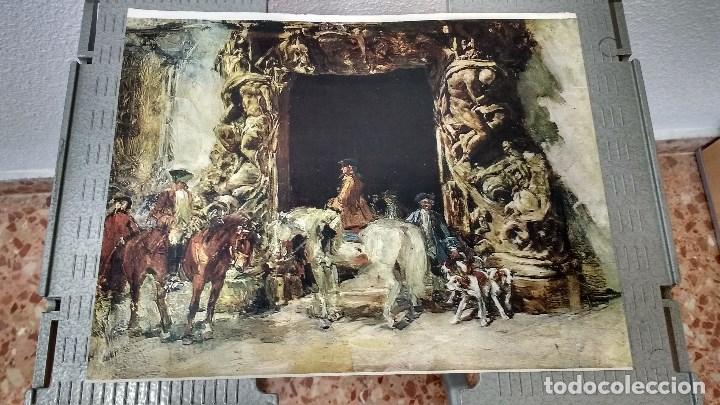 Coleccionismo: lote de 13 láminas de diversos cuadros - Foto 11 - 139384578
