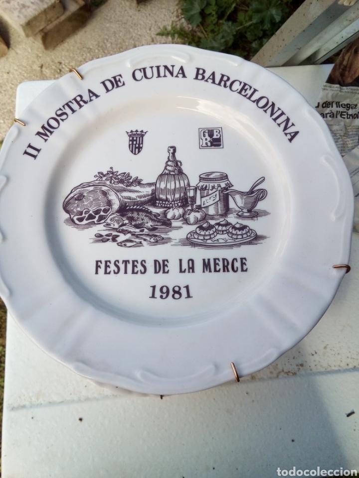 Coleccionismo: Bestial lote 18 platos feria gastronomica la merçe merce barcelona 80/97 - Foto 2 - 139402066