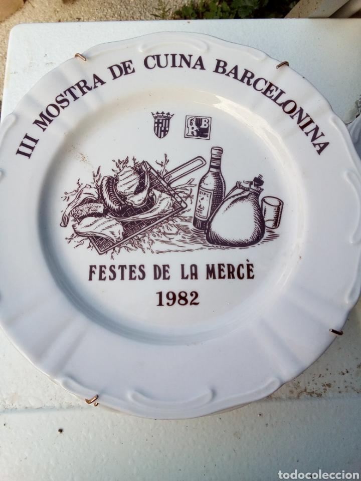 Coleccionismo: Bestial lote 18 platos feria gastronomica la merçe merce barcelona 80/97 - Foto 3 - 139402066