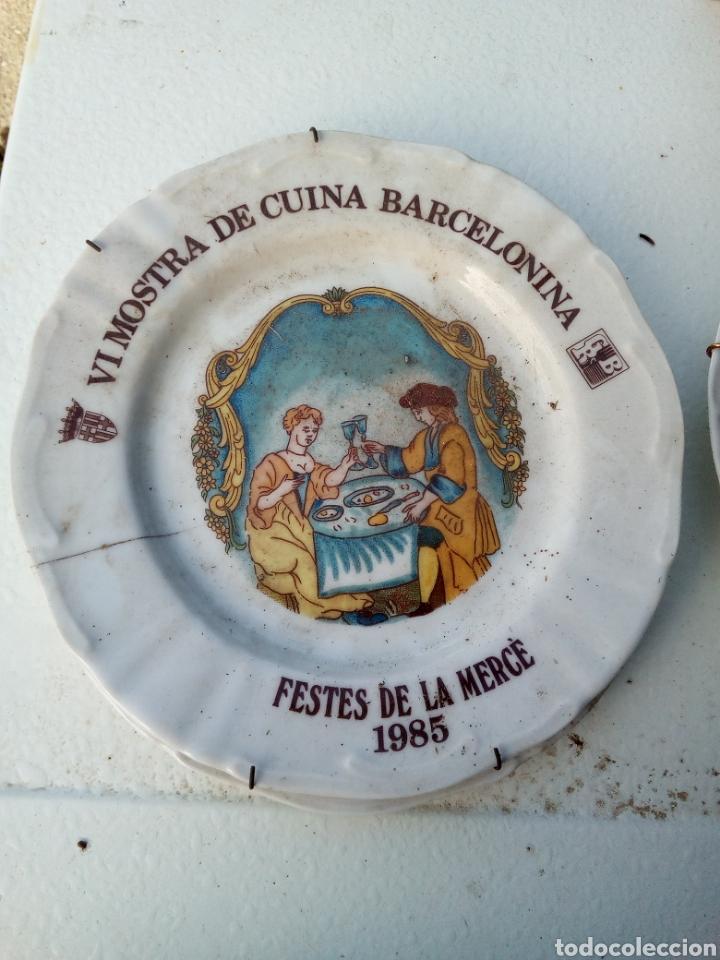 Coleccionismo: Bestial lote 18 platos feria gastronomica la merçe merce barcelona 80/97 - Foto 6 - 139402066