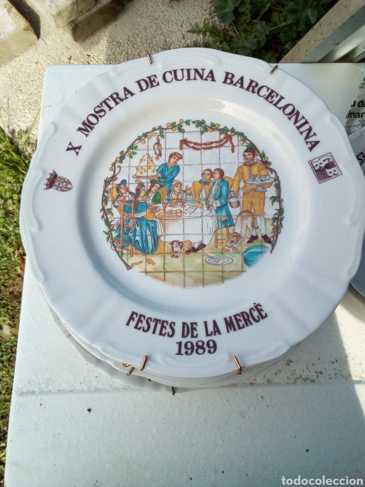 Coleccionismo: Bestial lote 18 platos feria gastronomica la merçe merce barcelona 80/97 - Foto 10 - 139402066
