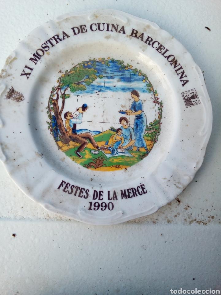Coleccionismo: Bestial lote 18 platos feria gastronomica la merçe merce barcelona 80/97 - Foto 11 - 139402066