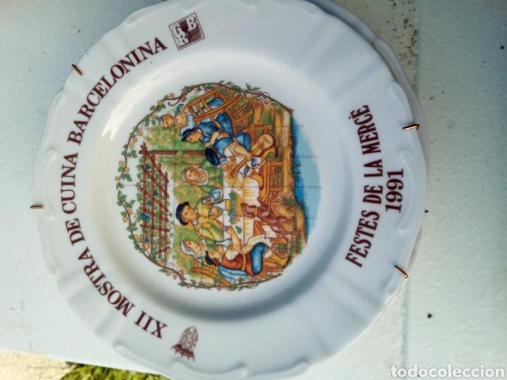 Coleccionismo: Bestial lote 18 platos feria gastronomica la merçe merce barcelona 80/97 - Foto 12 - 139402066