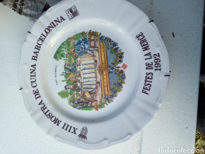 Coleccionismo: Bestial lote 18 platos feria gastronomica la merçe merce barcelona 80/97 - Foto 13 - 139402066
