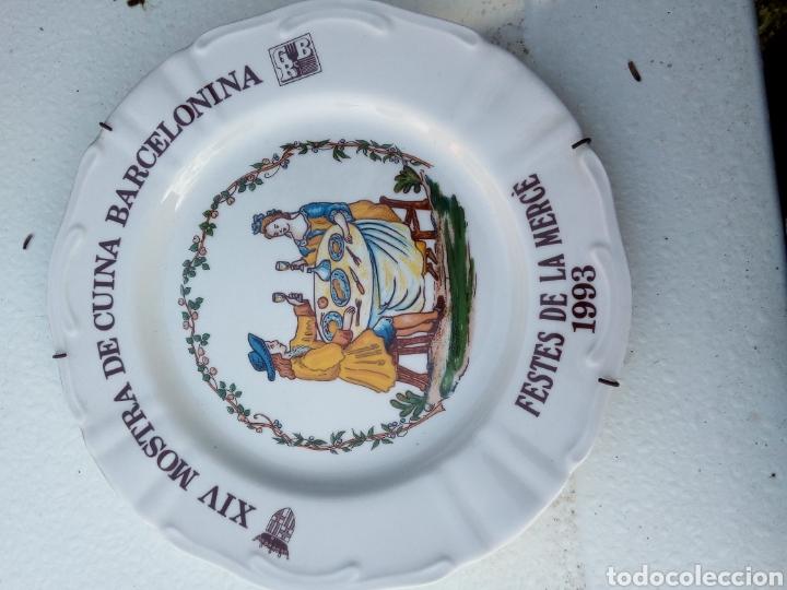 Coleccionismo: Bestial lote 18 platos feria gastronomica la merçe merce barcelona 80/97 - Foto 14 - 139402066