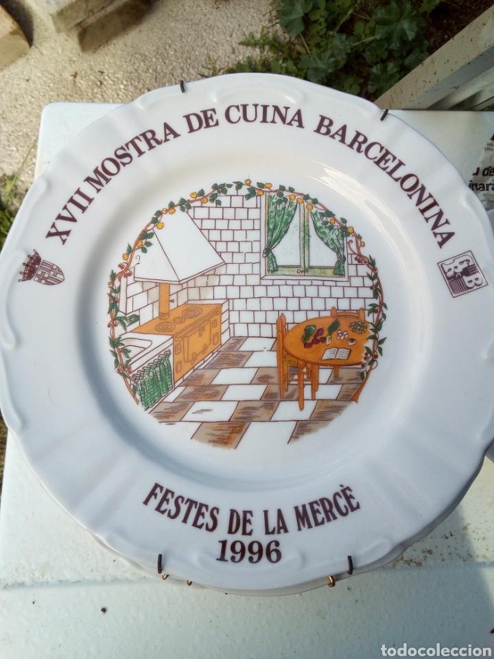 Coleccionismo: Bestial lote 18 platos feria gastronomica la merçe merce barcelona 80/97 - Foto 17 - 139402066