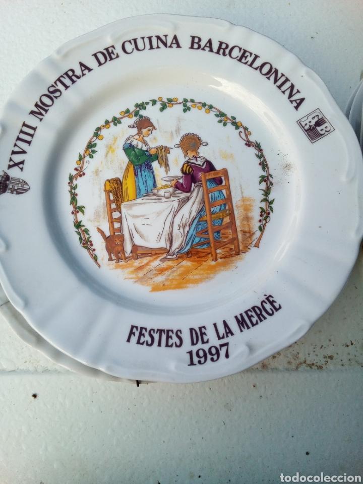 Coleccionismo: Bestial lote 18 platos feria gastronomica la merçe merce barcelona 80/97 - Foto 18 - 139402066