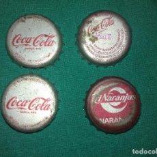 Coleccionismo: ANTIGUAS CHAPAS DE COCA COLA Y TRINARANJUS LOS DE LA FOTO. Lote 139439934