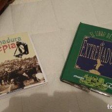 Coleccionismo: LIBRO EXTREMADURA- SEPIA - LIBRO DE POSTALES PEGADAS - HISTORICO. Lote 139446110
