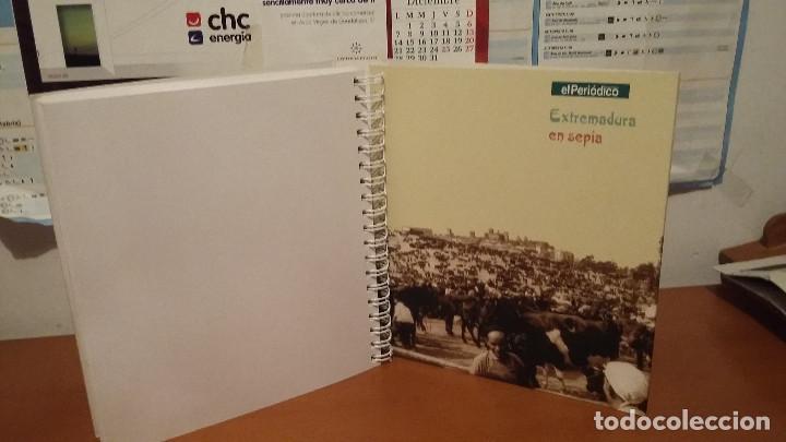 Coleccionismo: Libro EXTREMADURA- SEPIA - LIBRO DE POSTALES PEGADAS - HISTORICO - Foto 2 - 139446110