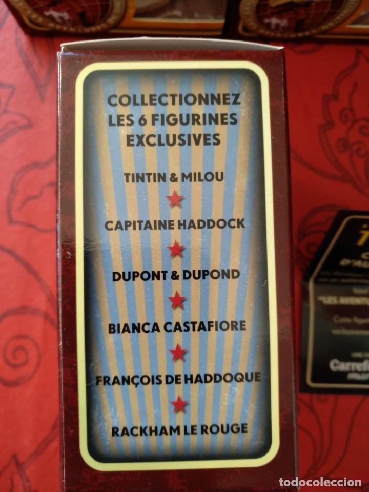 Coleccionismo: Tintín 6 figuras colección completa Carrefour - Foto 2 - 139714354