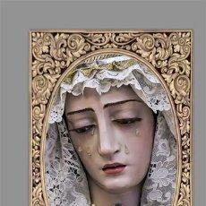 Coleccionismo: AZULEJO 40X25 DE LA VIRGEN DE LOS DOLORES EN LA ORDEN SERVITA DE SAN FERNANDO (CÁDIZ). Lote 139813514
