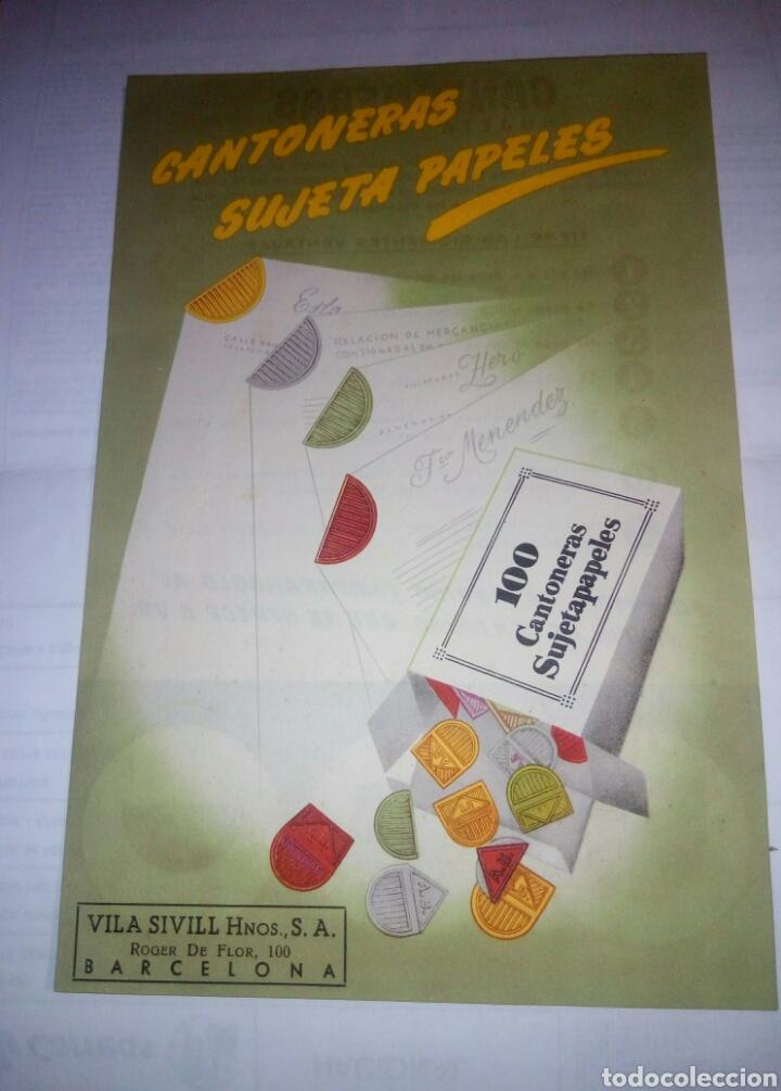 FOLLETO PUBLICITARIO VILA SIVILL HNOS (Coleccionismo - Laminas, Programas y Otros Documentos)