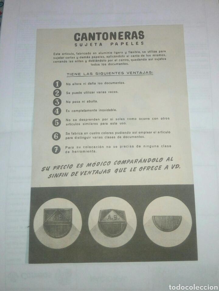Coleccionismo: Folleto publicitario Vila Sivill hnos - Foto 2 - 139901397