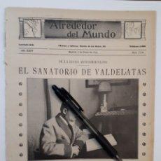 Coleccionismo: EL SANATORIO DE VALDELATAS. DE LA LUCHA ANTITUBERCULOSA. 1922. Lote 139913698