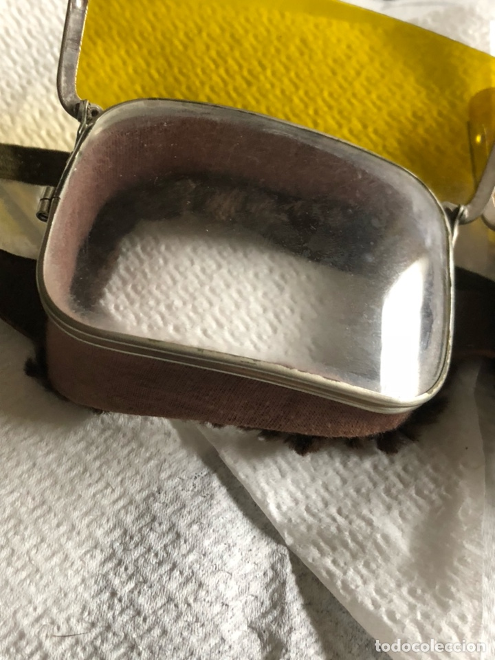 Coleccionismo: Magníficas gafas antiguas de motociclismo - Foto 2 - 140390566