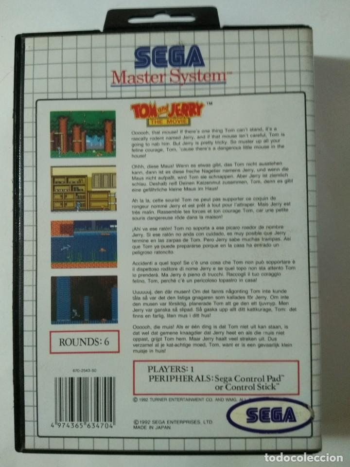 Videojuego para master system tom y jerry 1992 - Sold at