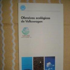 Coleccionismo: FOLLETO VOLKSWAGEN, EXPO 92 SEVILLA. Lote 140571470