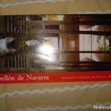 Coleccionismo: FOLLETO PABELLON NAVARRA, EXPO 92 SEVILLA. Lote 140572570