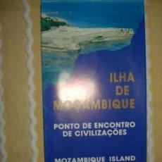 Coleccionismo: FOLLETO MOZAMBIQUE, EXPO 92 SEVILLA. Lote 140574290