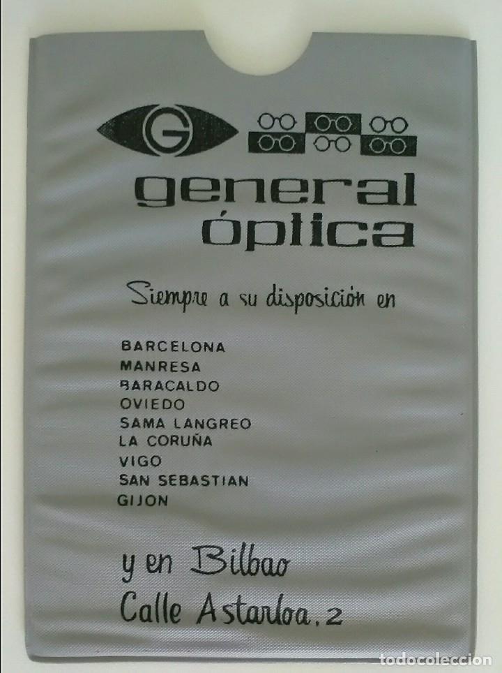1d141a7243 GENERAL ÓPTICA FUNDA ORIGINAL 1968 Y DOCUMENTO CON SELLO (Coleccionismo -  Varios)