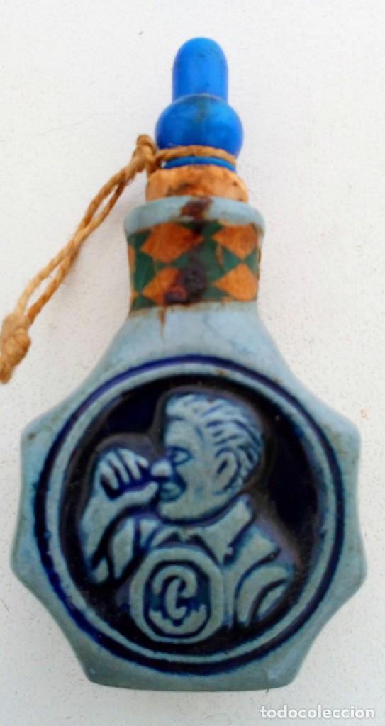 Coleccionismo: SNUFF BOTTLE. TABAQUERA DE RAPE DE CERÁMICA DE ALEMANIA. VINTAGE. PÖSCHL. SCHMALZLER LANDSHUT/BAY - Foto 2 - 140773478