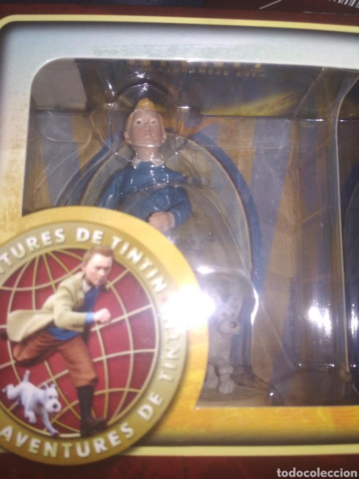 Coleccionismo: Tintín 6 figuras colección completa Carrefour - Foto 7 - 139714354
