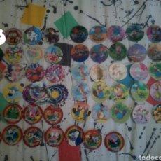 Coleccionismo: 55 TAZOS DE LOS 90. Lote 140408270