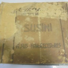 Coleccionismo: ALBUM SUSINI. A SUS FAVORECEDORES. CROMOS DE MUJERES, NIÑOS. PRECIOSOS COLORES. VER. LEER . Lote 141305598