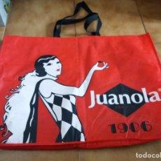 Coleccionismo: BOLSA GRANDE. MARCA PASTILLAS JUANOLA. 100 AÑOS. 1906 2006. FARMACIA.. Lote 141531902