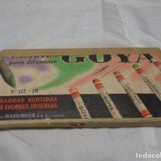 Coleccionismo: CAJA DE LÁPICES GOYA. Lote 141575990